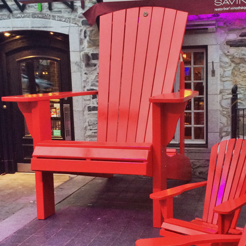 Giant Adirondack Chair 9901g Cedtek