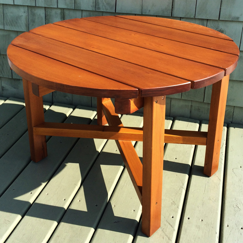 Low Round Table In Separate Parts S Cedtek - Picnic table parts