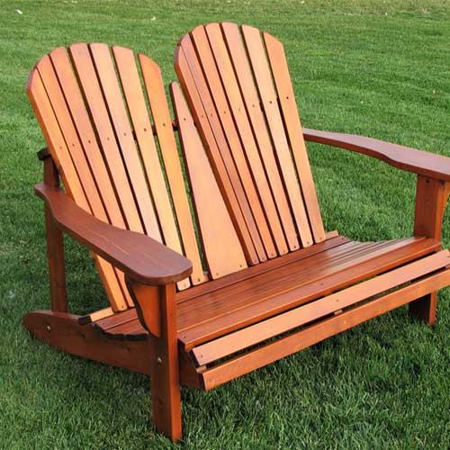Pleasant Double Adirondack Chair 0102 Bralicious Painted Fabric Chair Ideas Braliciousco